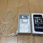 iPhone5sの箱の中