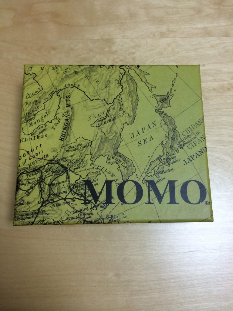 MOMO 革製マネークリップ