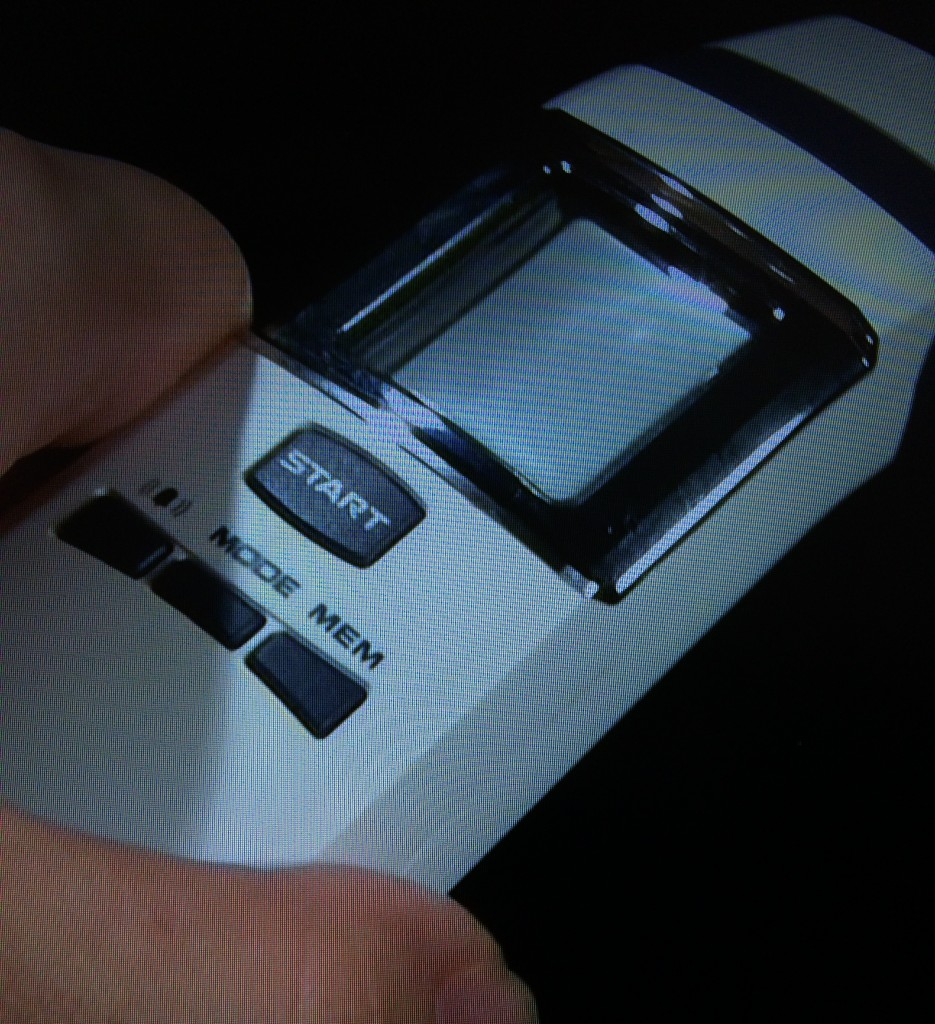 赤ちゃんの熱を測るのに便利なエジソンの体温計