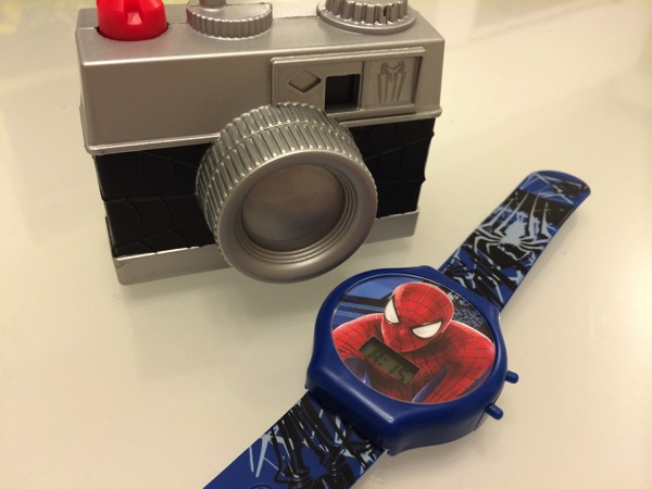 ハッピーセットのおもちゃだけはマクドナルドを認める スパイダーマン編