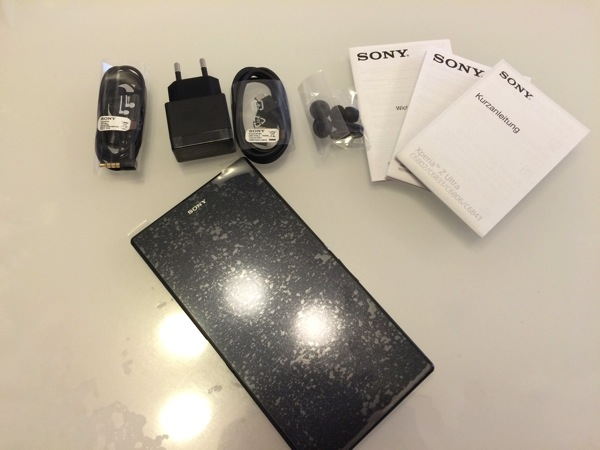 Xperia Z Ultraが届いた!もうiPhoneとiPadいらないかも