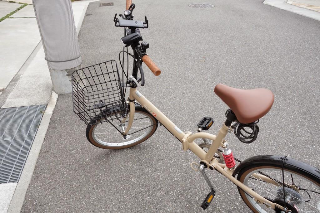 Ingressするためだけに自転車にタブレット対応のスマホマウント用ホルダー付けた結果