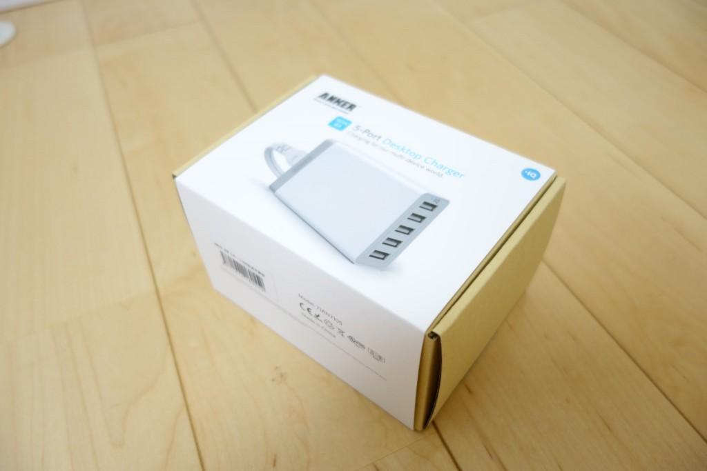 USB機器が増えてきたので複数の充電、給電に対応しているANKERの電源アダプターを購入したのでレビュー