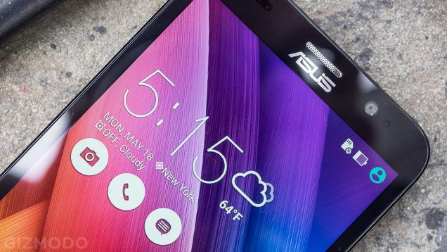 Android5.1ロリポップ搭載の超激安SIMフリースマホ!ZenFone Goはなんと1万円代!