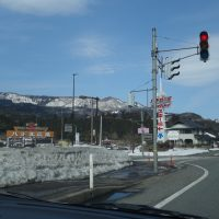 3月中旬!雪は?境港からフェリーに乗るために兵庫県から車で出発してみた
