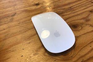 MagicMouse2のクリック音が大きい!でも静音マウスよりも快適な設定ができた!
