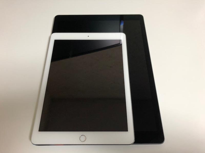 iPad Pro 12.9インチ(第2世代)モデルを買ってみた!iPadPro9.7インチとの差は?