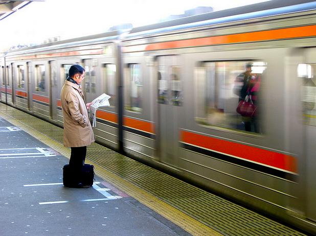 電車の立ち位置