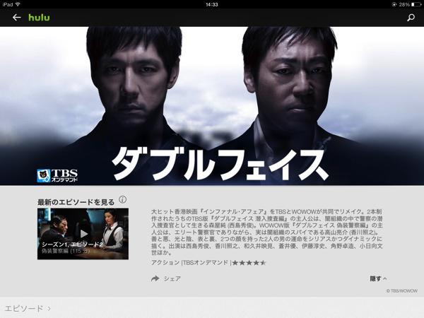 潜入捜査と偽装警察!西島秀俊と香川照之のダブルフェイスがおもしろい!