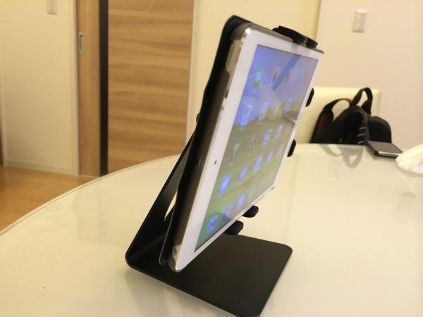 iPad miniやNexus7に最高の7インチタブレットスタンドB079 IPA07のレビュー