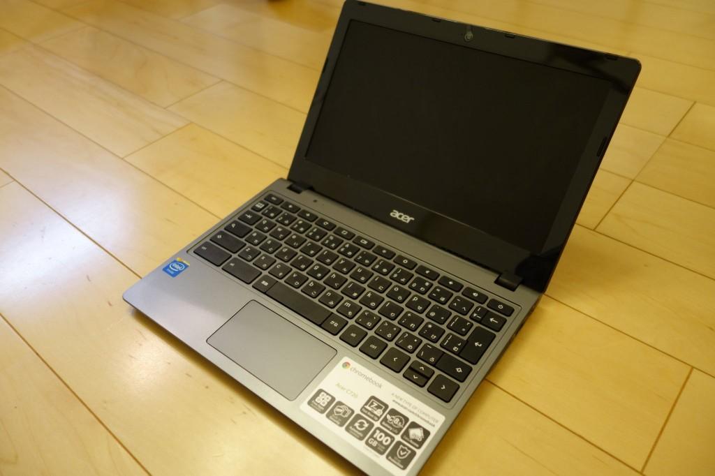 MacBook AirからChromebookに移行したが何も問題がなかった点について語る