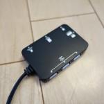 ドスパラで500円だったカードリーダー兼USB2.0ハブがMacBook Airで大活躍の件