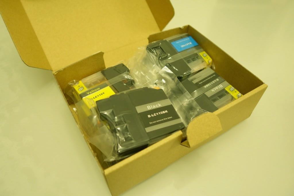 プリンターのインク切れ!Brother DCP-J132Nの超激安互換インクカートリッジ(LC110)を買ってみたレビュー
