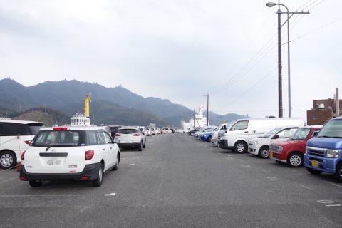境港からフェリーに乗るなら無料駐車場を利用しよう!