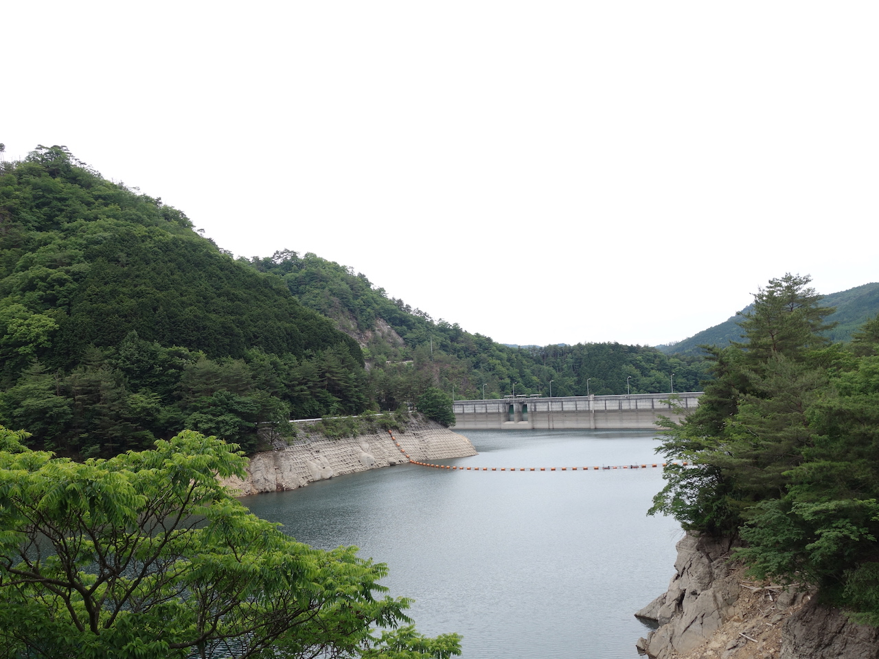 生野ダムと銀山湖はついでに見ておくほうがいい