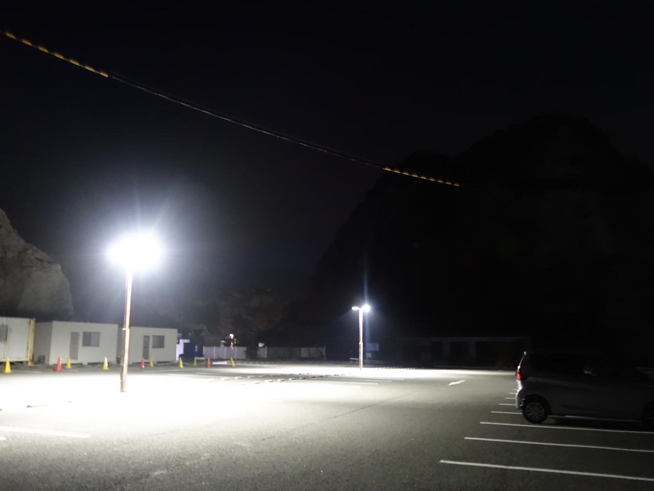 白崎海浜公園で車中泊は・・・ヤメといたほうがいいかも!
