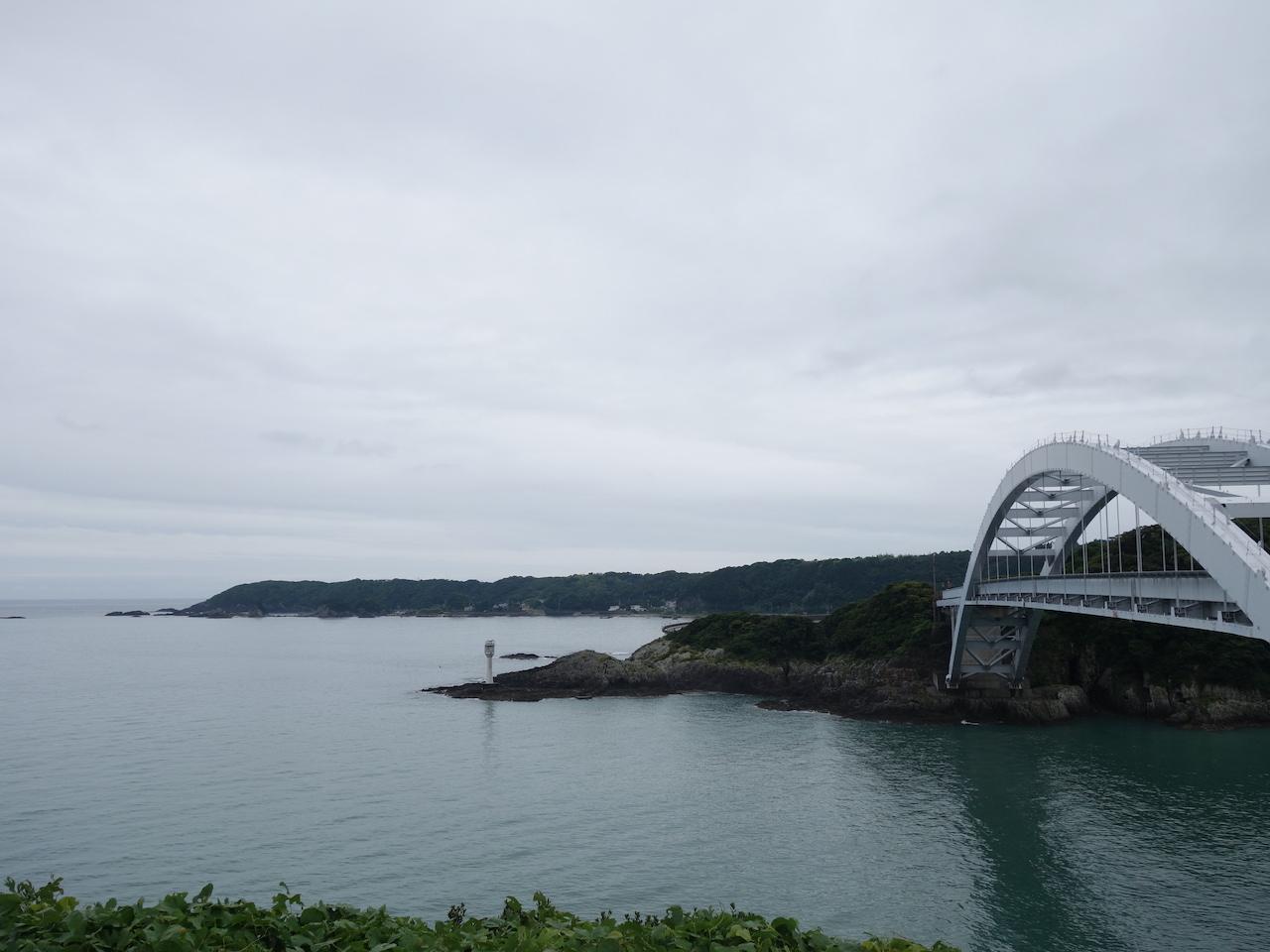 潮岬まで行ったなら大島も攻めよう!橋で繋がってはいるが孤島だった!