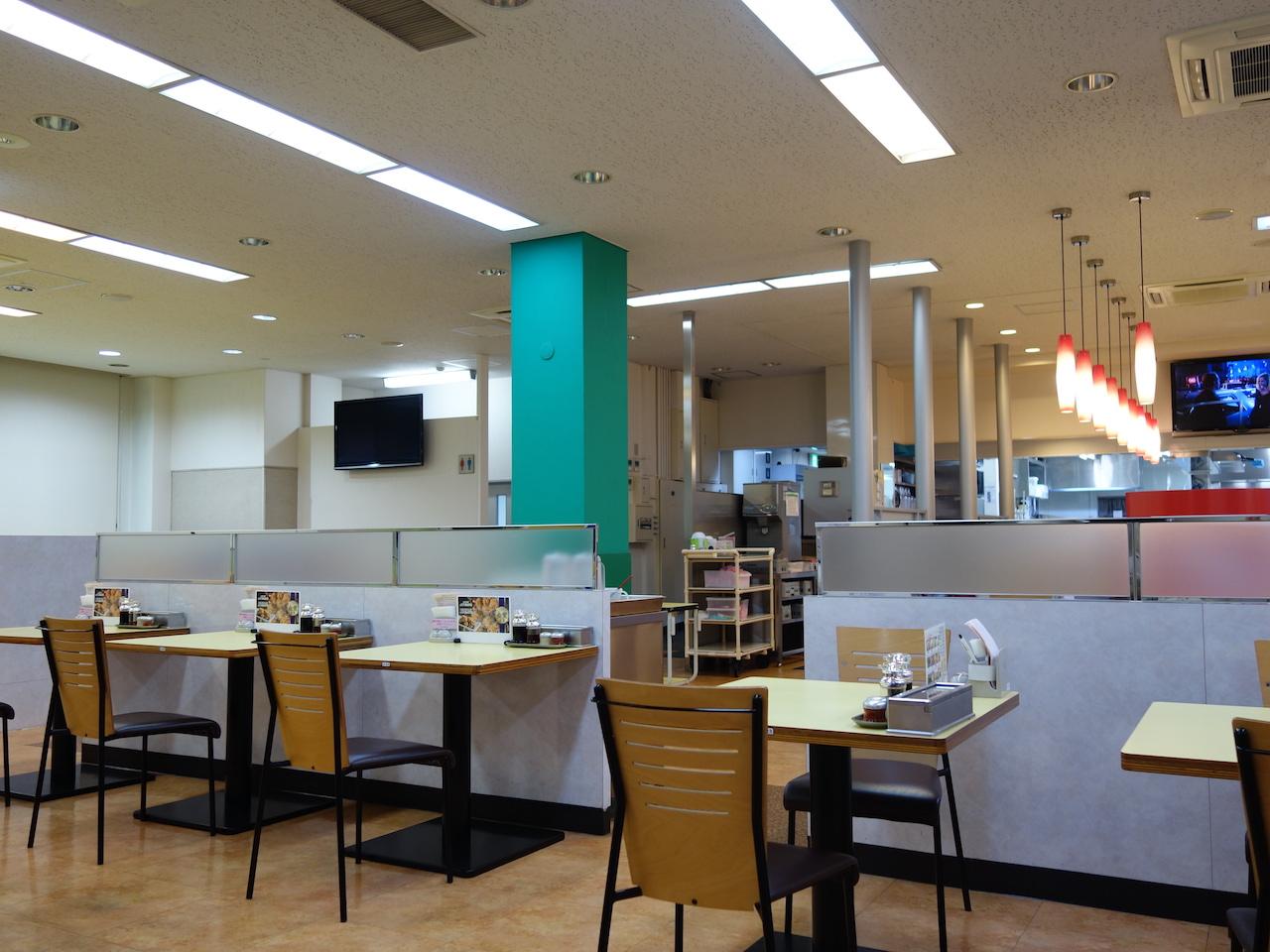 西名阪自動車道の香芝サービスエリアは人気ラーメン神座があるぞ!