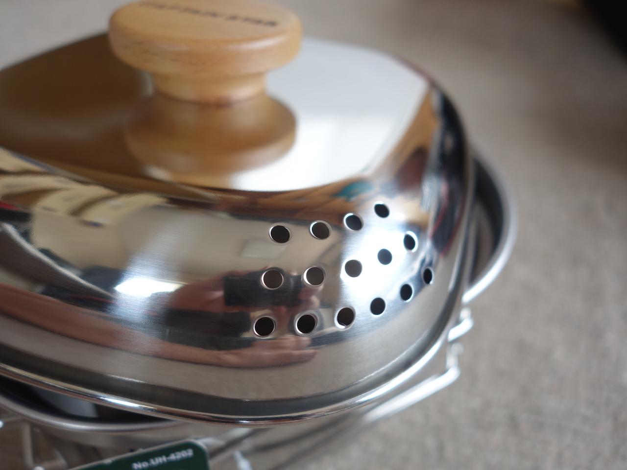 一人キャンプで使える鍋!ラーメンや湯沸かしに重宝しそう!これでコーヒーも作れるよ