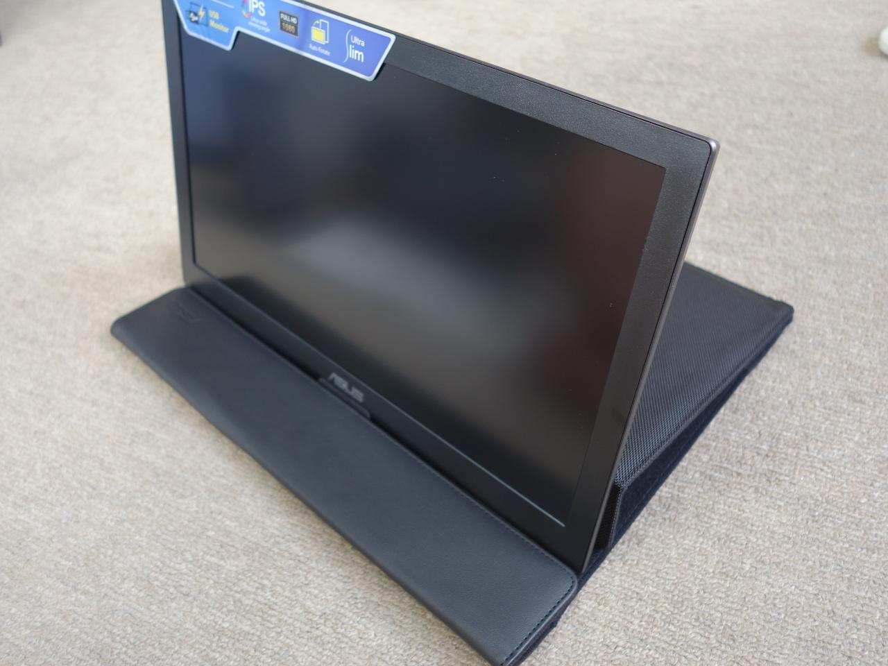 ASUSのUSBだけで取り付けられる外付けモバイルディスプレイ買ったら仕事が捗り過ぎてヤバイ!