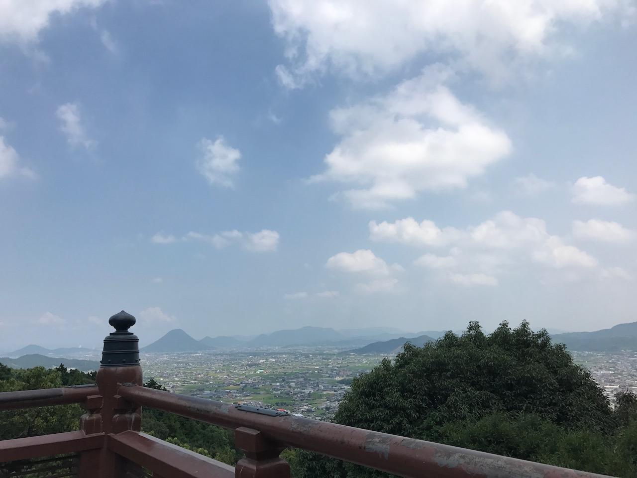 金比羅山の最奥にパワースポットが!奥社からの景色は絶景!うどんも忘れるな