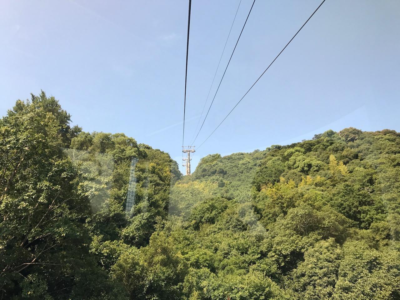阿波おどり会館から眉山ロープウェイで山頂へ!徳島市内一望はなかなかの絶景!