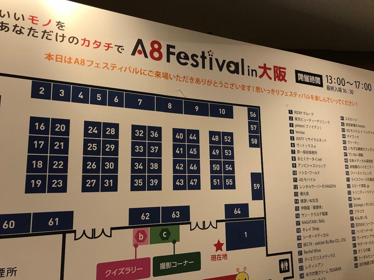 A8フェスティバル@大阪に行ってきた!アフィリエイター多すぎ!