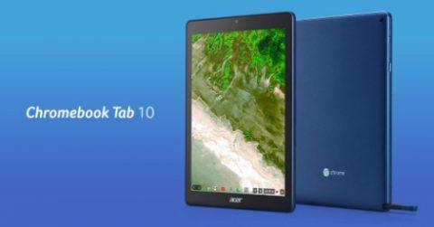 ChromeOS搭載のタブレット登場!?まずは教育機関から